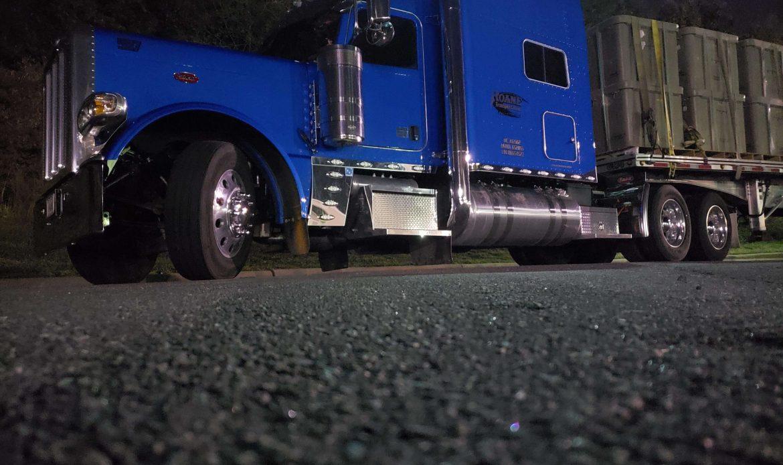 roane transportation driver Nathan Hensley's truck